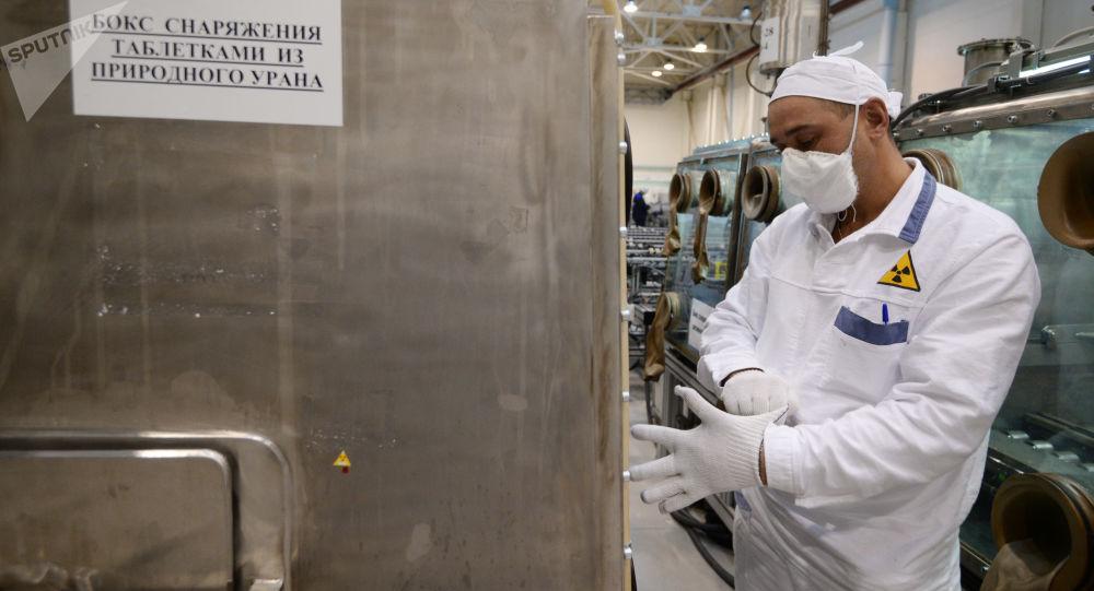 Úsek výroby TVEL v Novosibirsku