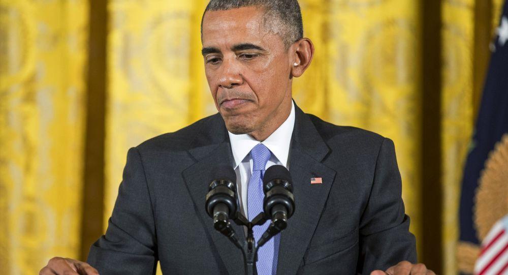 Americký prezident Барак Обама