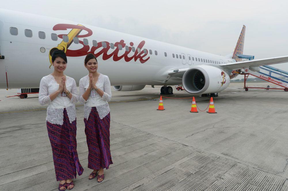Letušky z Indonésie aerolinek Lion Air