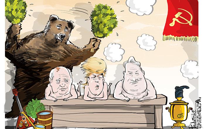 Gorby, Trumpy a Jelcy