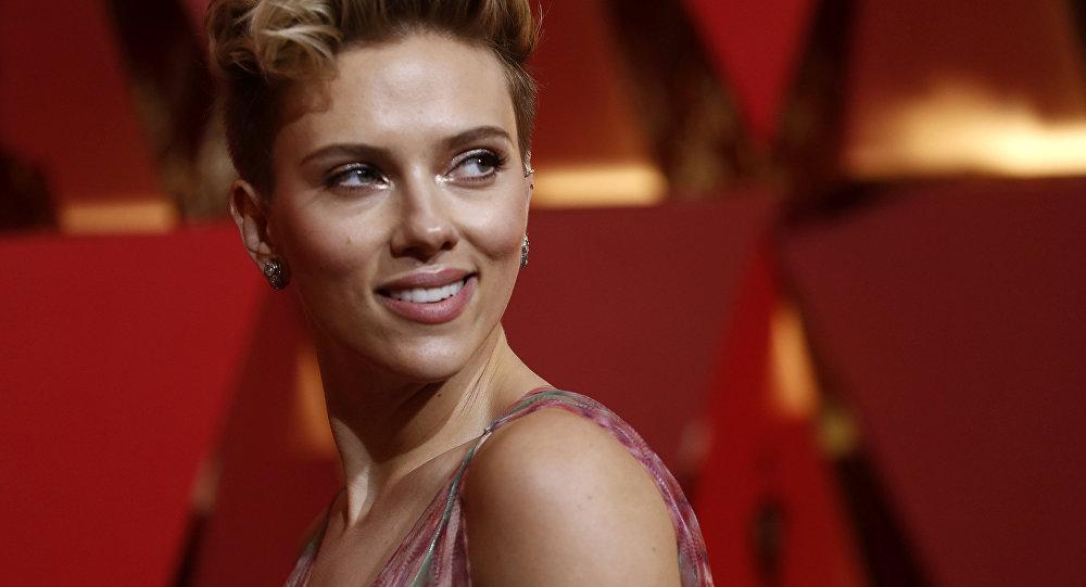 Herečka Scarlett Johanssonová