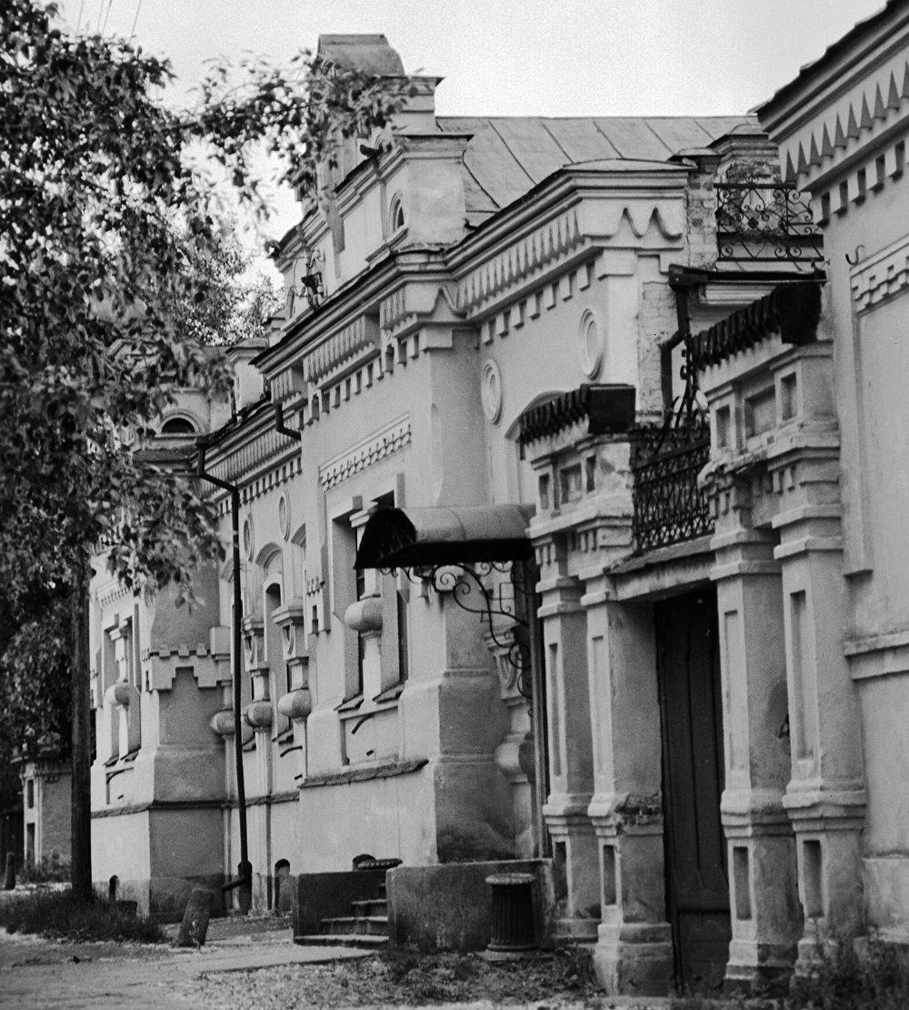 Dům inženýra Ipaťjeva v ruském Jekatěrinburgu, který se stal posledním útočištěm Romanovců