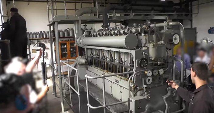Video: v Německu nastartovali dieselový motor ze 75 let staré ponorky
