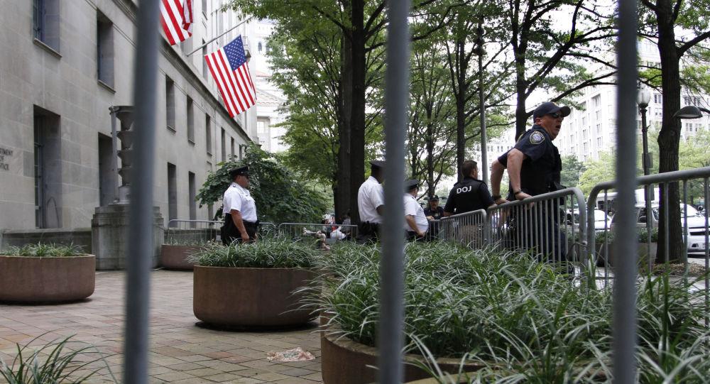 Ministerstvo spravedlnosti USA ve Washingtonu