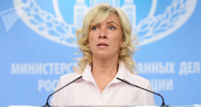 Oficiální mluvčí Ministerstva zahraničí RF Maria Zacharovová