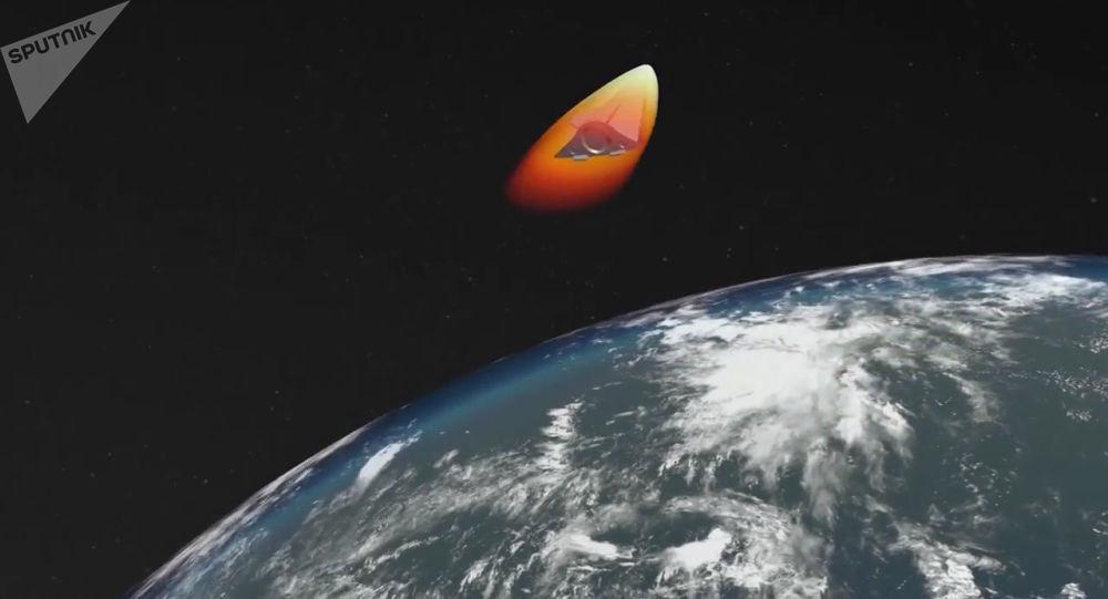 Start nejnovější rakety Avangard. Ilustrační foto