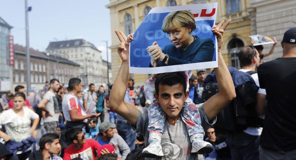 Uprchlík v Německu