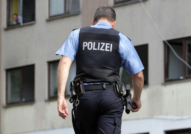 Německý policista. Ilustrační foto
