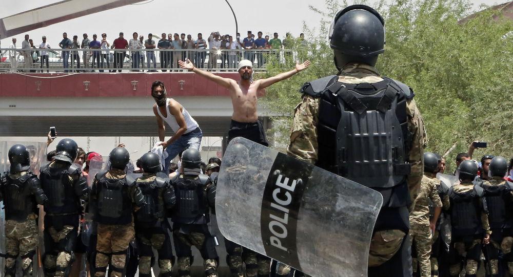 Protesty v Basře, Irák