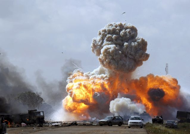 Situace v Libyi v roce 2011