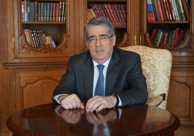 Ruský velvyslanec v České republice Alexandr Zmejevskij