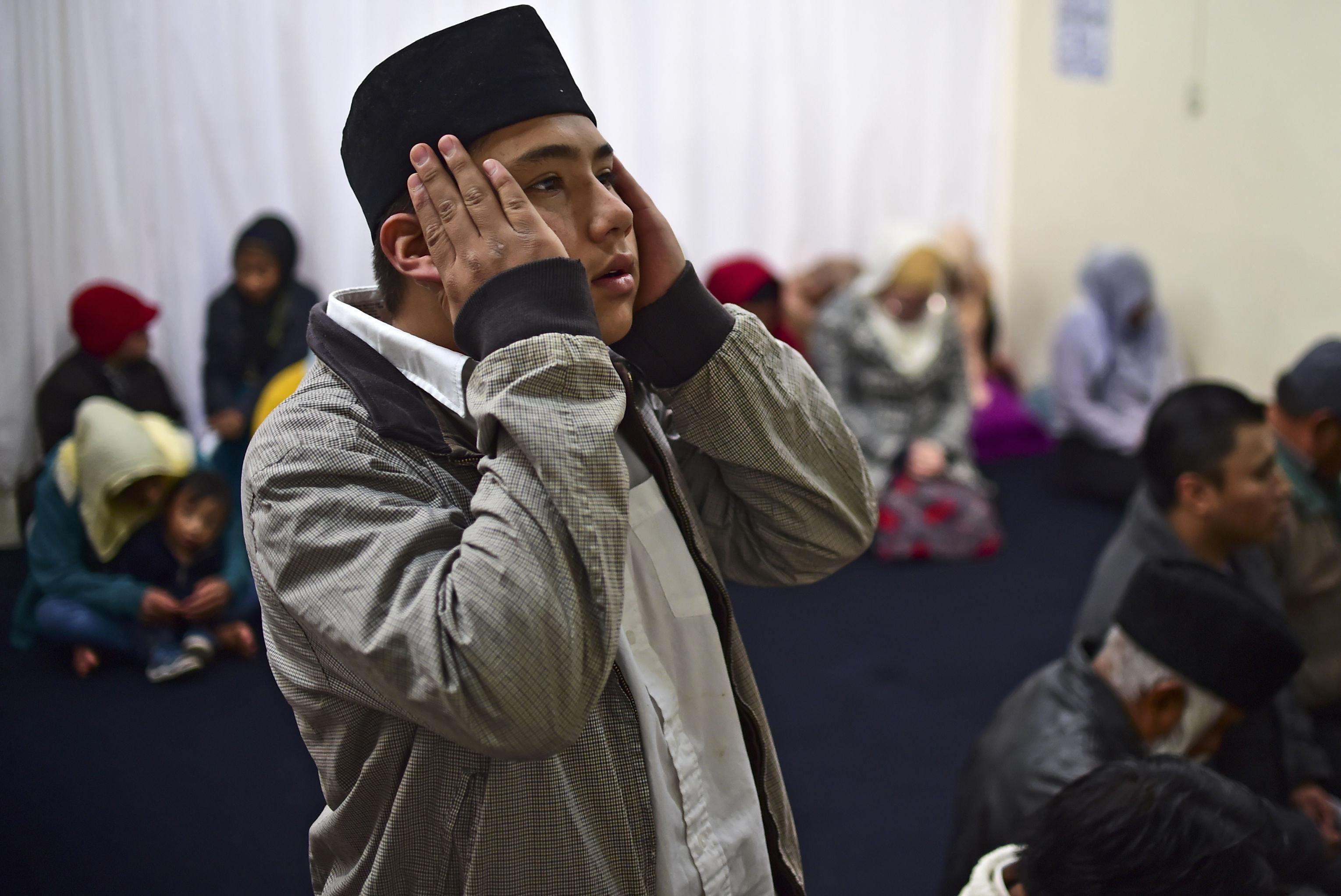 Muslim ve městě San Cristobál