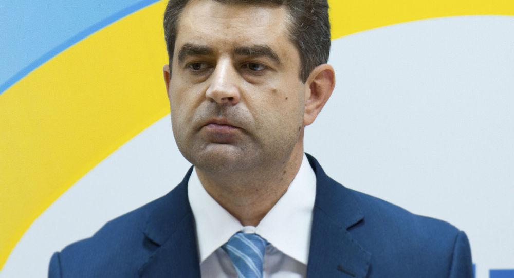 Ukrajinský velvyslanec Jevhen Perebyjnis