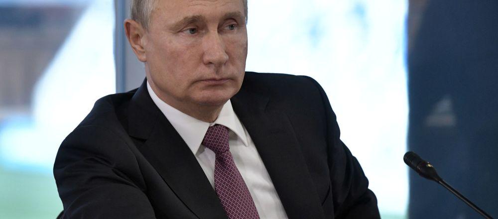 Prezident RF Vladimir Putin