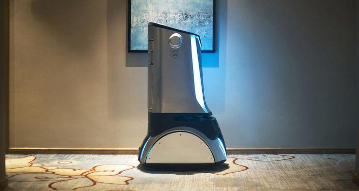 Robotizovaný hotel Smart LYZ ve městě Čcheng-tu