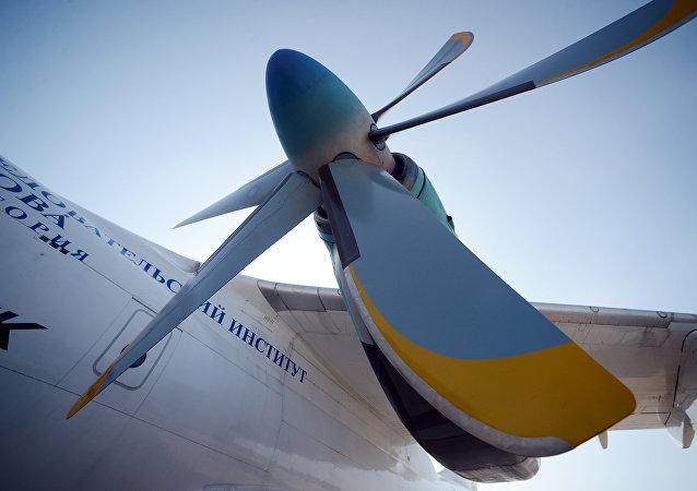 Vrtule motoru. Ilustrační foto