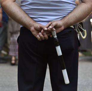 Policista na Krymu