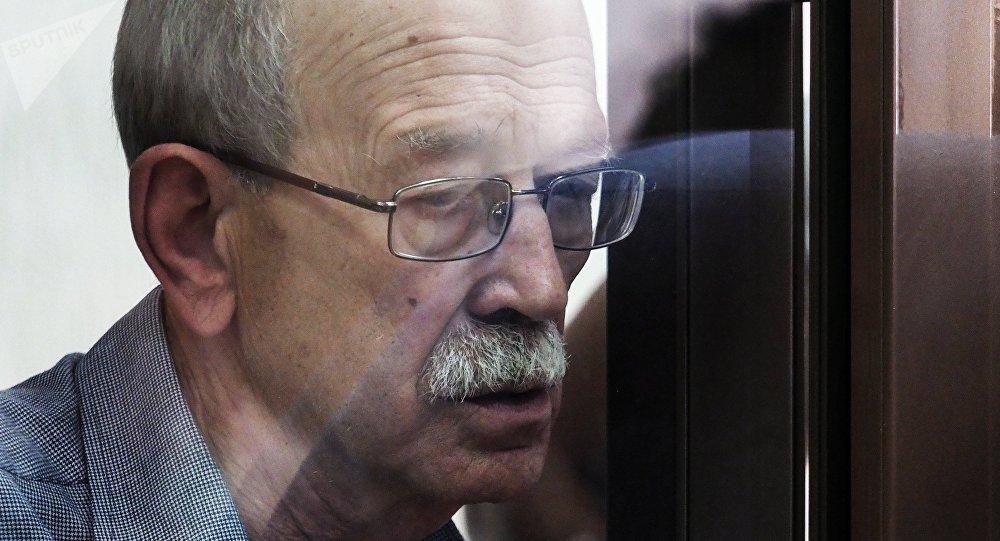 Viktor Kudrjavcev během soudního líčení