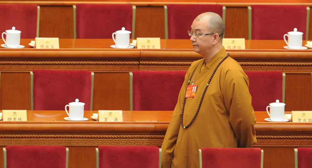 čínský buddhista Shi Xuecheng