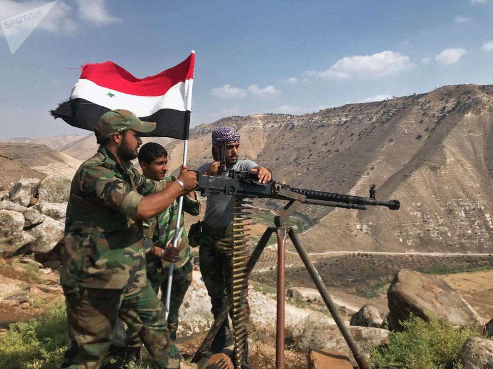 Osvobození Dar´á: Snímky z provincie, kterou ovládali teroristé