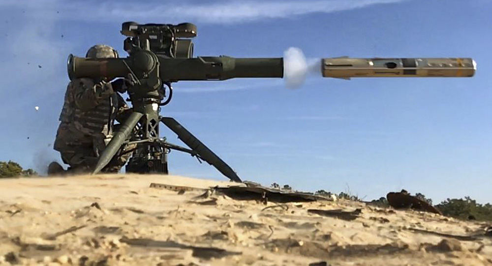 Raketomet TOW. Ilustrační foto