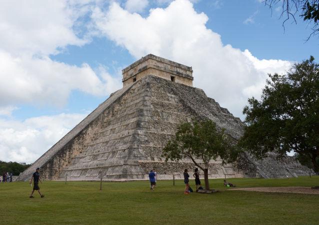 Город цивилизации майя Чичен-Ица в Мексике