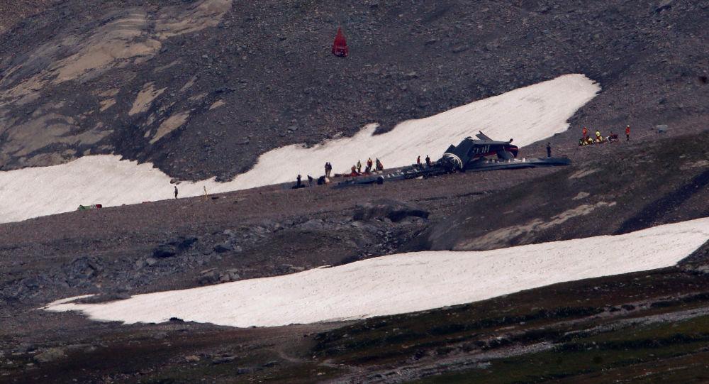 Havárie letadla  Junkers Ju-52 ve Švýcarsku