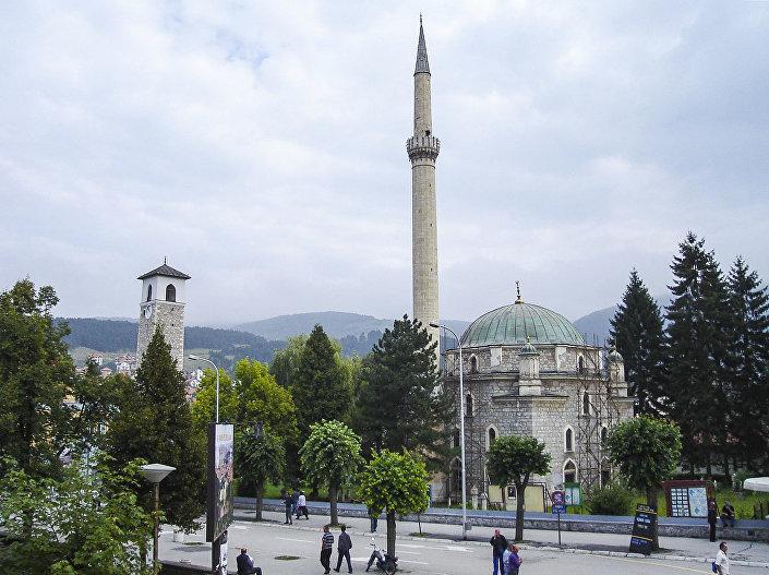 Mešita v černohorském městě Pljevlja