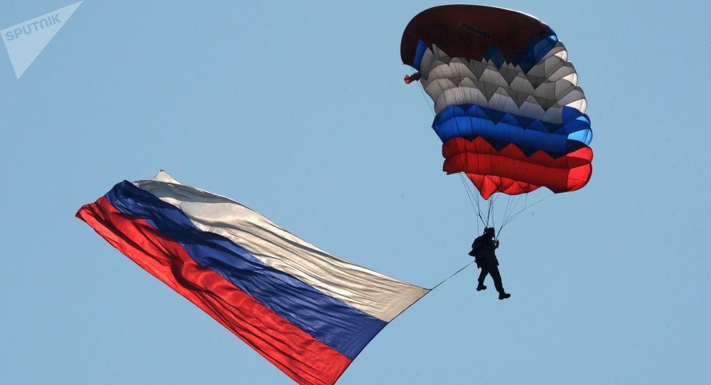Ruský výsadkář. Ilustrační foto