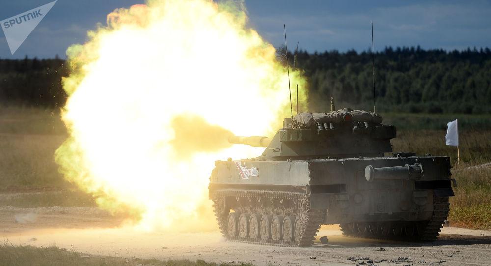 Samohybné protitankové dělo 2S25M Sprut-SDM-1