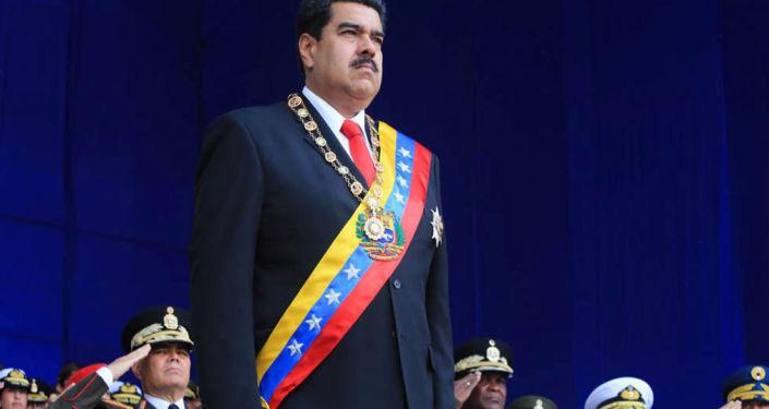Venezuelský prezident Nicolás Maduro
