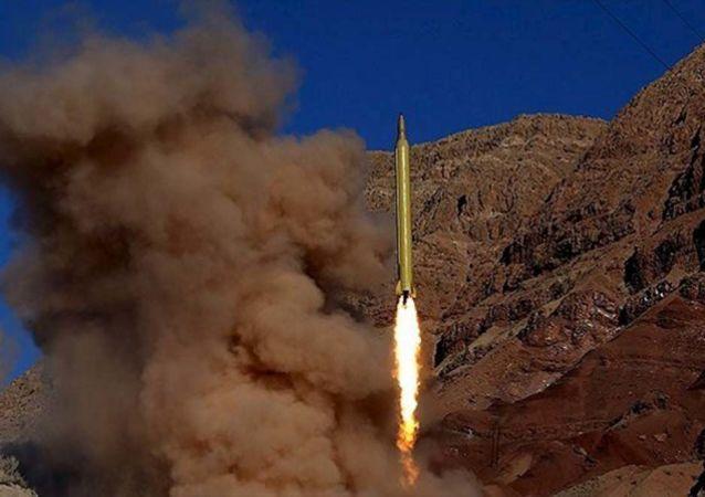 balistická raketa v Íráně