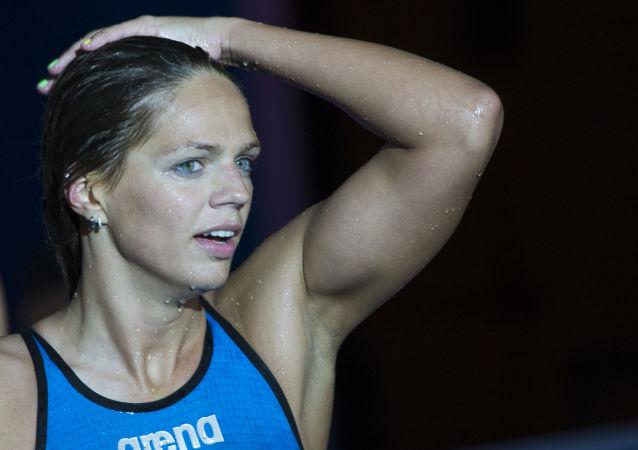 Ruská plavkyně Julia Jefimovová