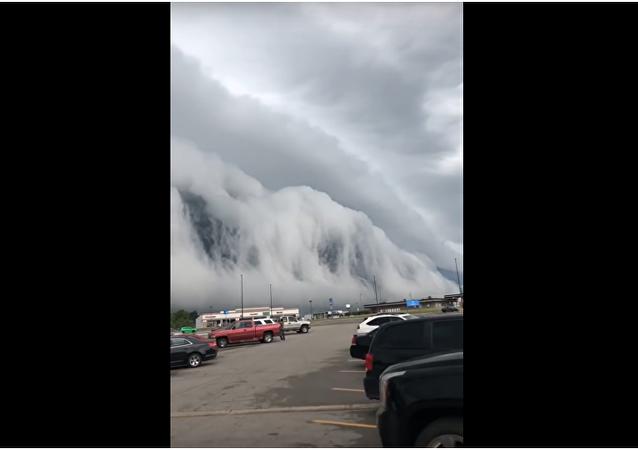 Obyvatelé Illinois natočili apokalyptický mrak