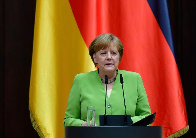 německá kancléřka Angela Merkelová