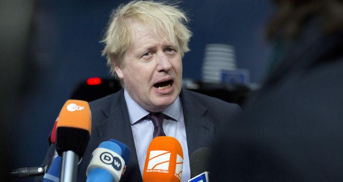 Bývalý primátor Londýna a bývalý ministr zahraničí Velké Británie Boris Johnson