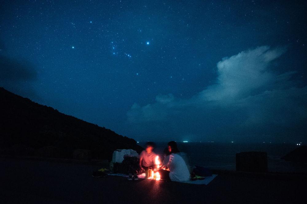Planoucí krása meteorického roje Perseid