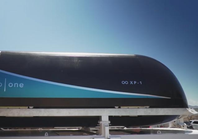 Prototyp vlaku Virgin Hyperloop One