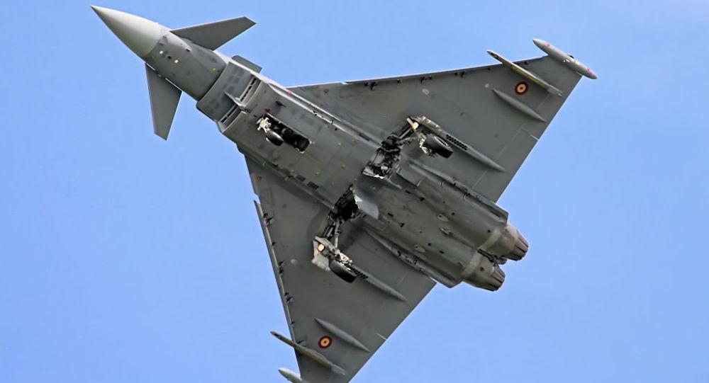 Španělský stíhací letoun Eurofighter Typhoon