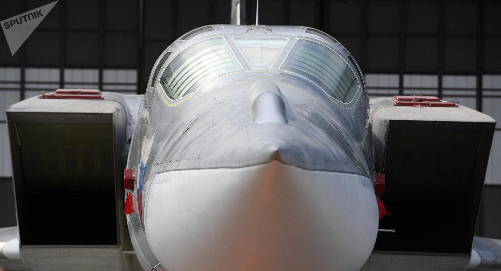 Prezentace bombardovacího letadla Tu-22M3M
