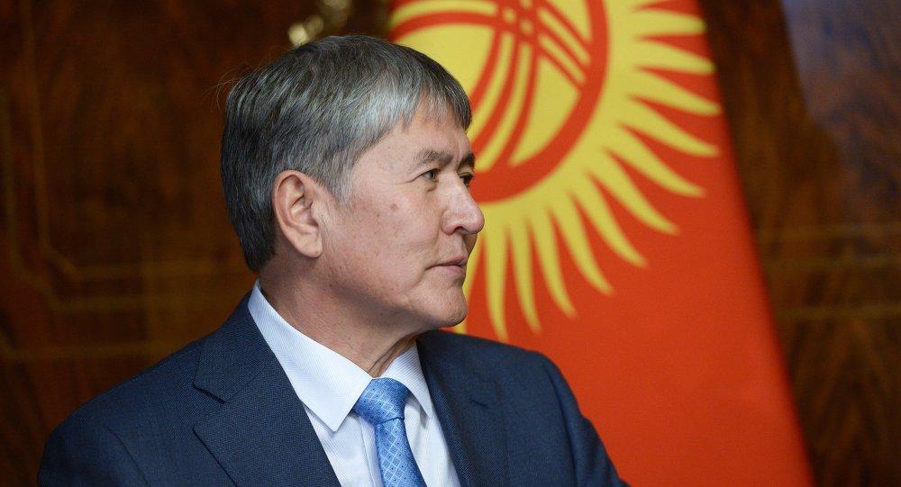 Kyrgyzský prezident Almazbek Atambajev