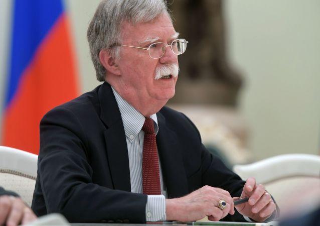 Poradce prezidenta USA pro národní bezpečnost John Bolton