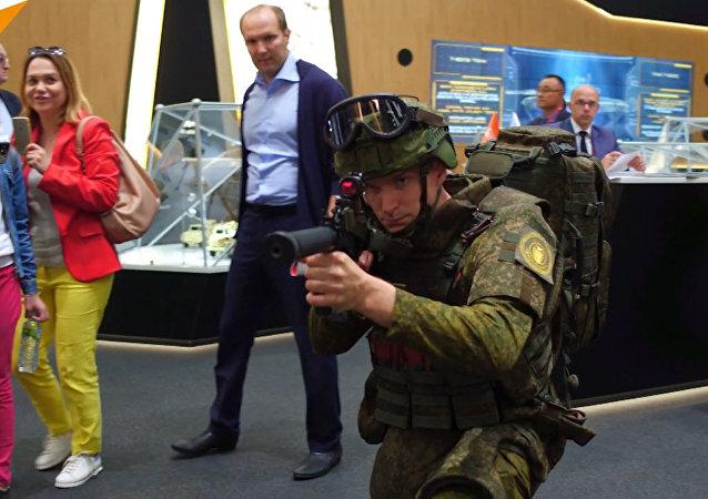 Exoskelet pro výstroj vojáka budoucnosti