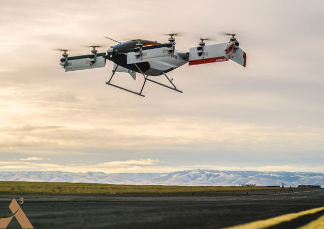 První létající taxi Aplha One projektu společnosti Airbus