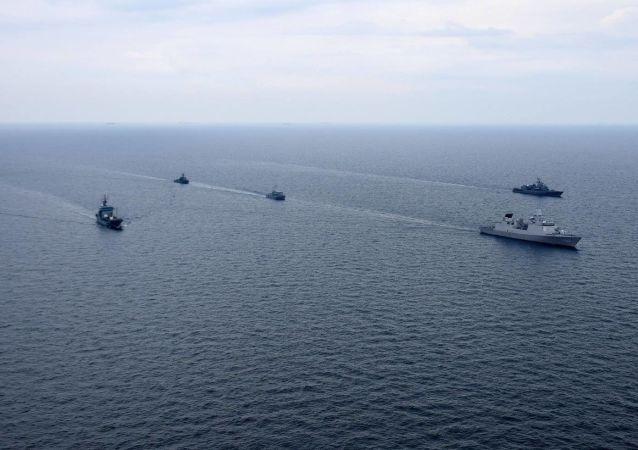 Lodě v Černém moři