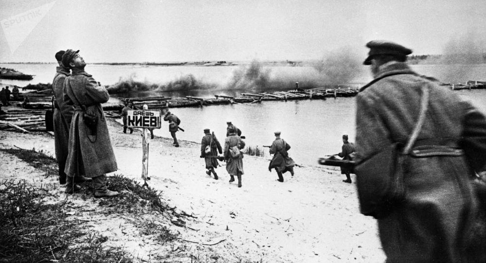 Bitva o Dněpr. Září 1943