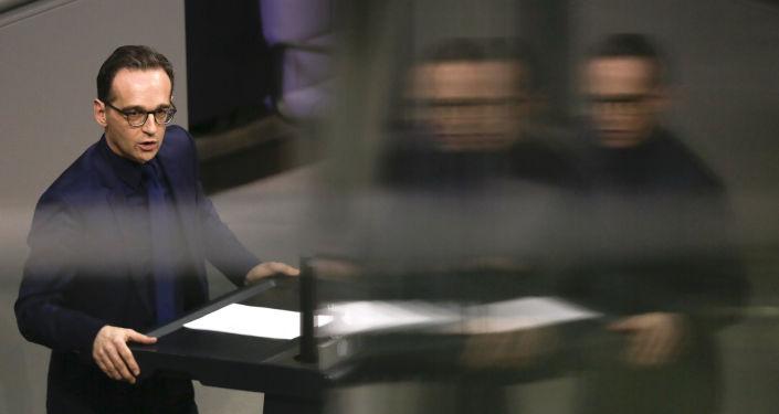 Německý ministr zahraničních věcí Heiko Maas