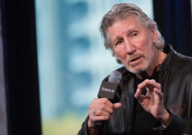 hudebník Roger Waters, jeden ze zakladatelů skupiny Pink Floyd
