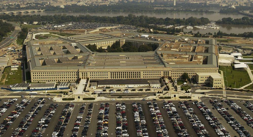 Budova Pentagonu v USA