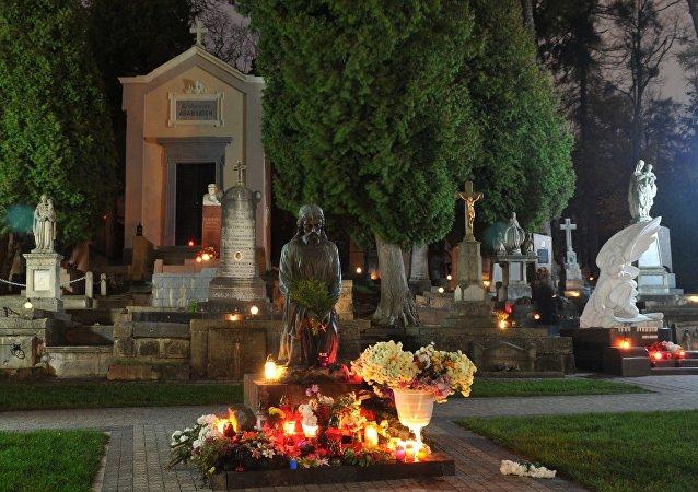 Hřbitov ve Lvově